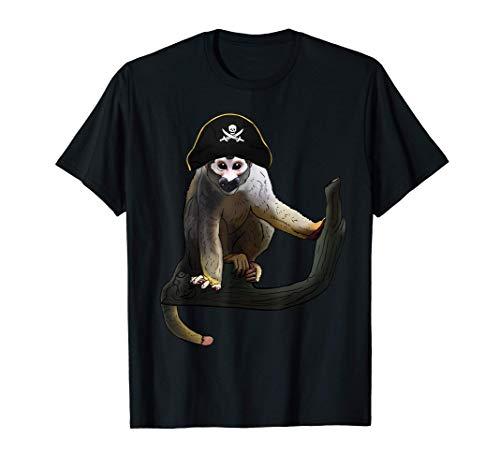 guckender kapuzineraffe Geschenkidee für Affen & Gorillas T-Shirt