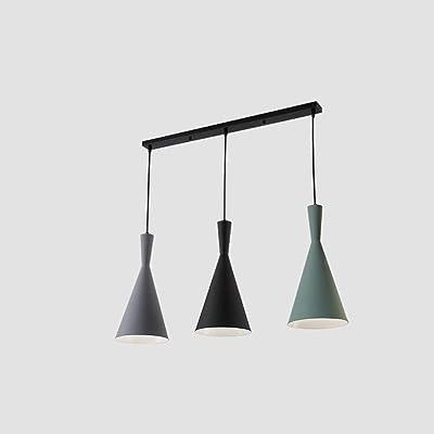 FDA3H Moderna lámpara de Techo para Bar, Comedor, Pasillo, balcón ...