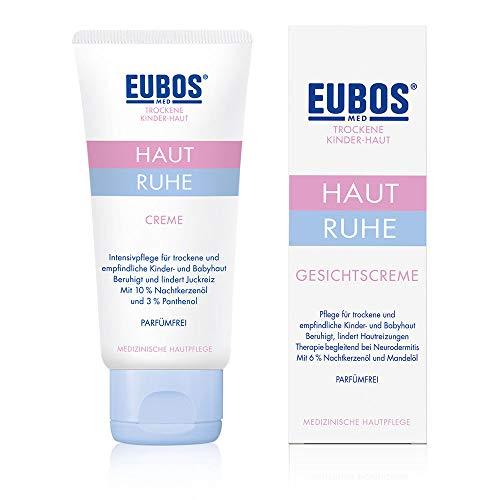 Eubos Haut Ruhe Creme 50ml für empfindliche und trockene Kinder- und Babyhaut, Hautvertäglichkeit dermatologisch bestätigt