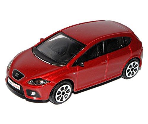 Bburago Seat Leon II Cupra Rot 2. Generation 2005-2012 1/43 Modell Auto