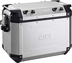 Givi Outback Monokey 48 Liter Side Cases (Left) (Silver)