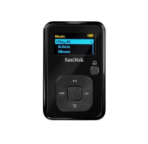 Sandisk Sansa Clip+ 4GB 4GB Negro - Reproductor MP3 (4 GB, OLED, Radio FM, Negro)