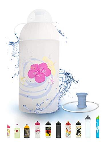 FreeWater Trinkflasche, 500ml, Frangipani: schadstofffrei, spülmaschinengeeignet, auslaufsicher, langlebig