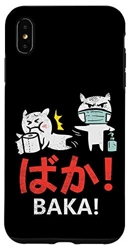 iPhone XS Max Baka Slap Toilet Paper Anime Manga Fun Quarantine Otaku Gift Case