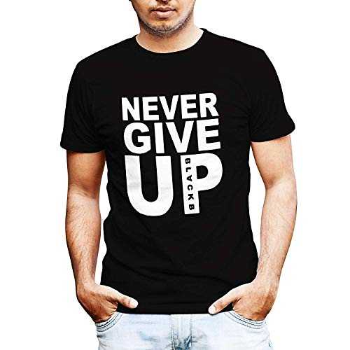 Never Give Up Mohamed Salah Style Liverpool Supporter T-Shirt Camiseta