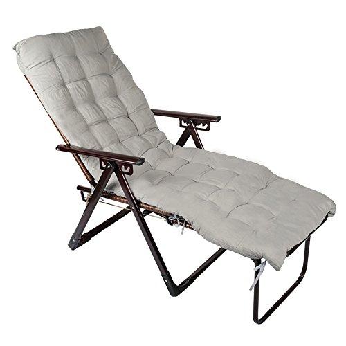ZDYHQ Wicker stoel klapstoel ligstoel recreatieve dutje stoel terug 5 hoeken kan worden aangepast