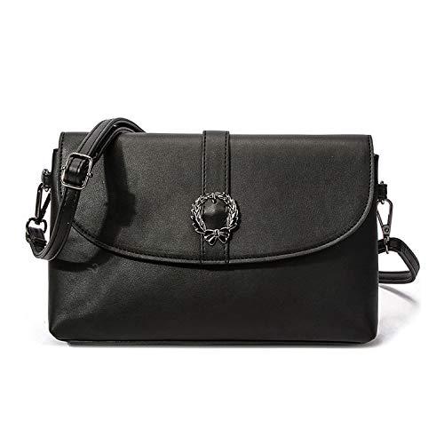 HOW.R.U - Ümhängetasche Damen Klein, Henkeltasche, Elegante Schultertasche, Handtasche, Damentaschen PU Leder, Crossbody Bag
