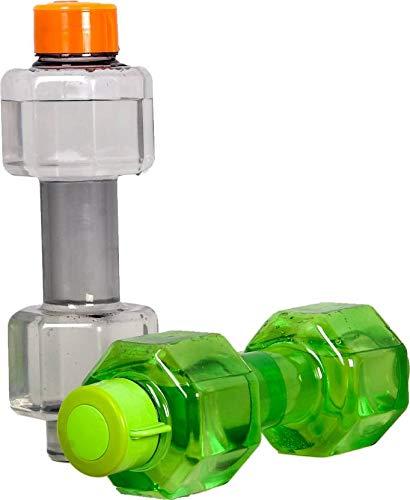 Skyfly Dumbbell Shaped Water Bottle, Sport Water Bottle 750 ml Set of 2 Bottle