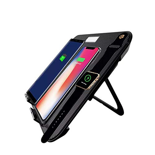 Hihey 4 in 1 draadloze oplader verticaal opvouwbaar draadloos opladen mobiele telefoon multifunctioneel snellaadstation voor smartwatch mobiele telefoon draadloze hoofdtelefoon