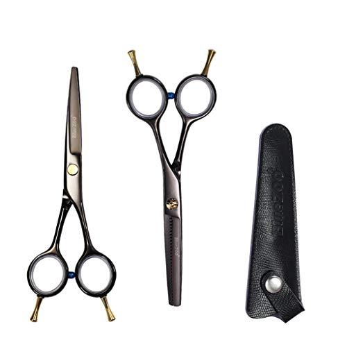 LBYSK Ciseaux de Coiffure Set Barbershop Salon de Haute qualité en Acier Robuste de Sharp Durable Outil Professionnel pour Styling Barber Shop Salon Accueil