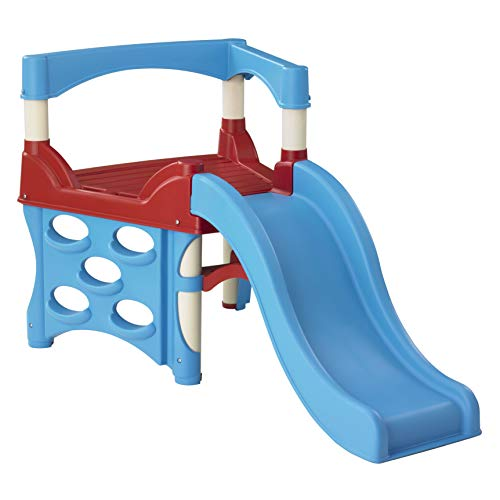 American Plastic Toys My First Climber and Slide, Blue 5 ft or Less