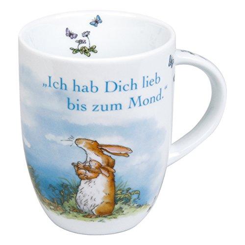 Könitz Weißt Du Eigentlich Becher, Kaffeebecher, Teetasse, Tasse, Porzellan, 355 ml, 1111030780