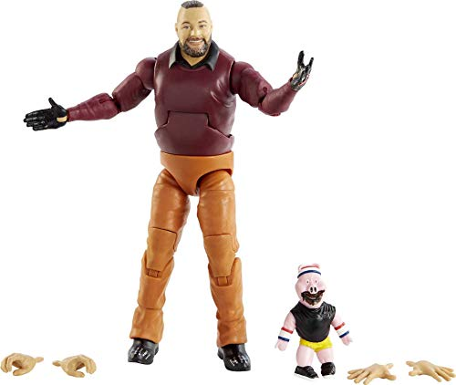 WWE Bray Wyatt Elite Collection Action Figure, 6-in/15.24-cm Posable Collectible Gift for WWE Fans Ages 8 Years Old & Up