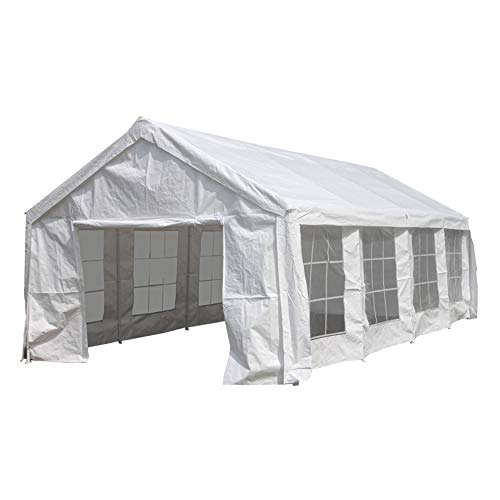 ALEKO Heavy Duty Outdoor Canopy Event Tent with Windows