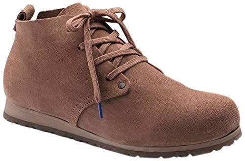 BIRKENSTOCK - Zapatillas Altas de Piel Mujer, color Marrón,...