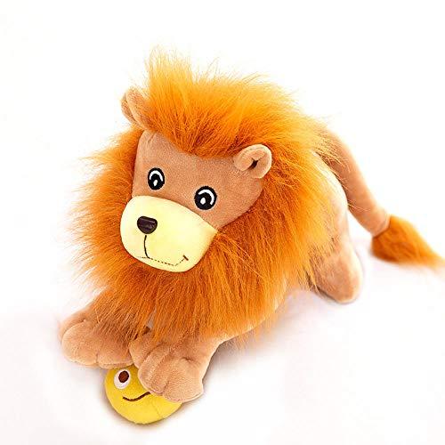 Recordever Creatieve Schattige Simulatie Liegen Model Schattige Leeuw Pop Knuffel Pop Te Sturen-lion King _50cm (1,25 Kg)