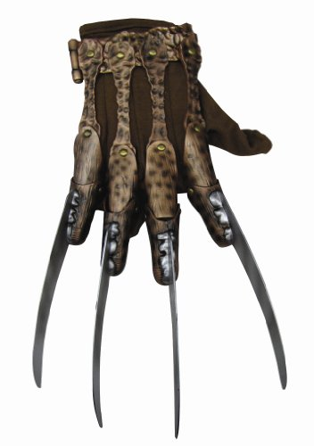 Nightmare On Elm Street Deluxe Freddy Krueger Glove, Gray, One Size - http://coolthings.us