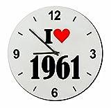 Druckerlebnis24 Exclusivo: Vidrio de Reloj I Love 1961
