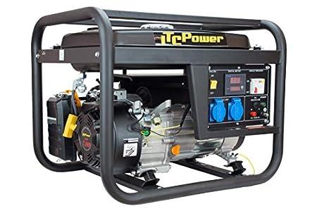 ITCPower IT-GG4100L Generador Gasolina, Negro