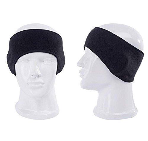 Unisex Fleece Winter Warm Headband Sports Outdoor Running Cycling Head Wrap Hairband Stretch Ski Skateboard Ear Muff Earband Ear Protector Ear Cover