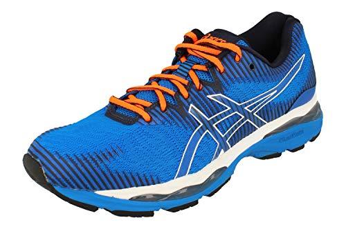 Asics Gel-Ziruss 2 Hombre Running Trainers 1011A924 Sneakers Zapatos (UK 10.5 US 11.5 EU 46, Electric Blue Midnight 405)