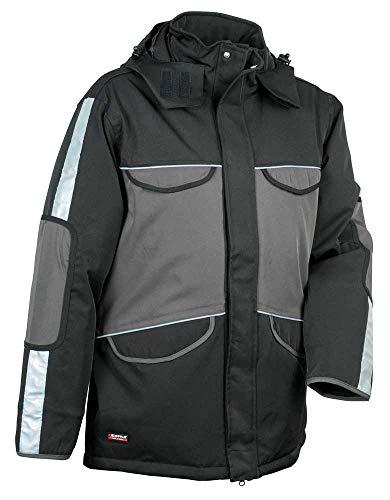 Cofra V098-0-03.Z52 - Giacca imbottita Sankt Moritz, taglia 52, colore: grigio/nero