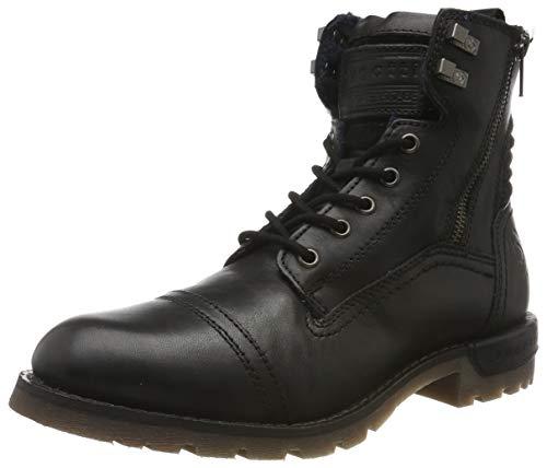 bugatti Herren 321611331200 Klassische Stiefel, Schwarz, 42 EU
