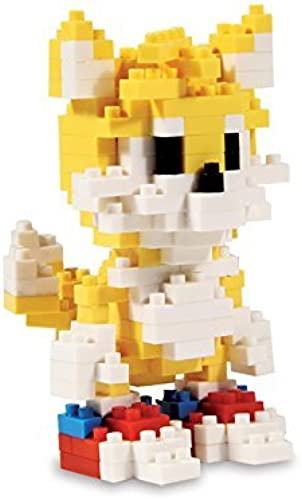 forma única Sonic Sonic Sonic Tails Pixel Bricks by Paladone Products  Felices compras