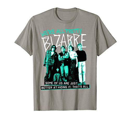 * NEW * Adults Official The Breakfast Club We're All Pretty Bizarre T-shirt. Sizes for Men and Women