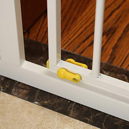 QIANDA Barrera de Seguridad Bebé Puerta de la Escalera Extra Ancho ...