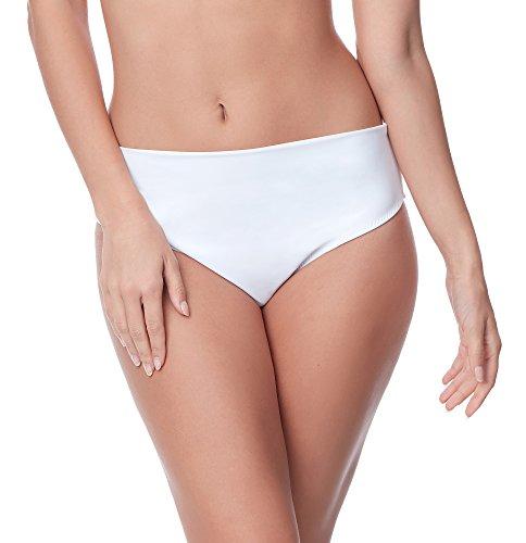 Merry Style Damen Bikini Unterteil M72W (Weiß (0016), 44)