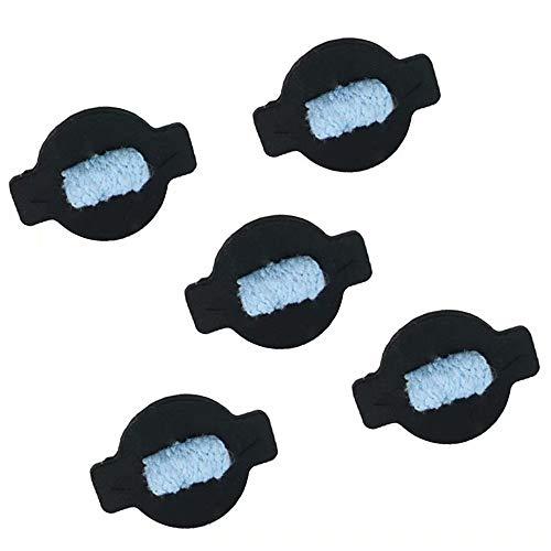 Huiaway Water Wick Cap kit for iRobot Braava 380 380t 320 Mint 4200 4205 5200 5200C Robot Replacement Vacuum Cleaner Parts - 5pcs