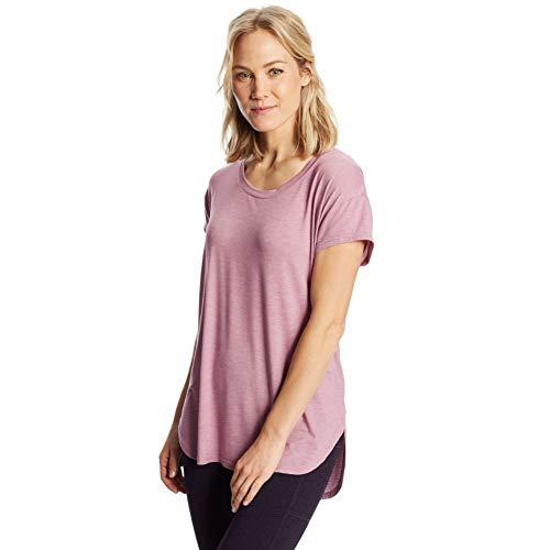 C9 Champion Women's Active Tee, Mauve Mist Purple Heather, L