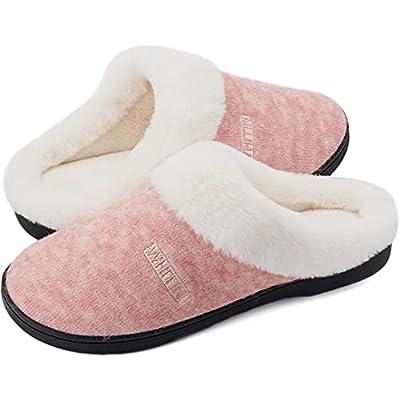 WHITIN Women's Knit Warm Fluffy Memory Foam...