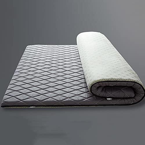 Dormir Tatami Estera De Meditación,Sleeping Pad Respirable Futón Tatami Colchón Pad Suave Japonés para El Estudiante Dormitorio Colchón-Un Rey
