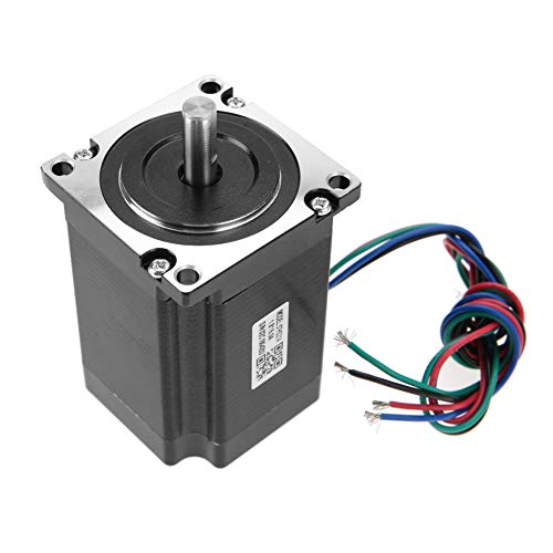 Preisvergleich Produktbild Schrittmotor CNC NEMA23 2 Phasen Schrittmotor 57HS21A 8mm Welle 76mm Länge 5A 2.1Nm