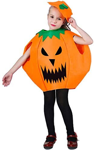 Halloween Pumpkin Cosplay Costume Party Clothes for Kids April Fools Day Jokes