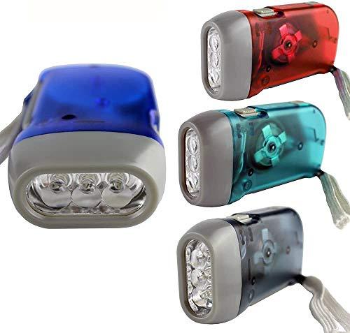 4 Pack Hand Crank Flashlight