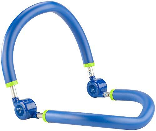 PEARL sports Oberschenkeltrainer: Bauchweg-Trainer mit weichen Schaumstoffgriffen (Oberschenkeltrainer effektiv)