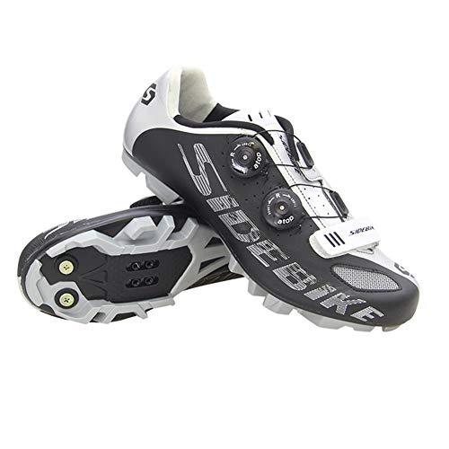JINGJIE Calzado Deportivo, Zapatos De Escalada Al Aire Libre Antideslizante Zapatillas De Ciclismo De Secado Rápido Ligeros Portátiles para Completar Un Ciclo Tráfico MTB Compatible,43EU