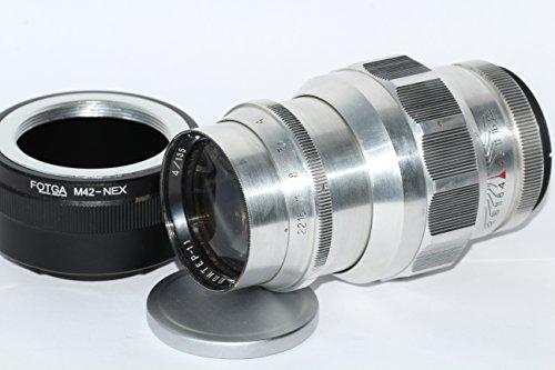 Jupiter-11 (4/135) LTM Russian Lens for RF cameras M39/M42 FED Leica Zorki + adapter for Sony E NEX (for E-mount cameras)
