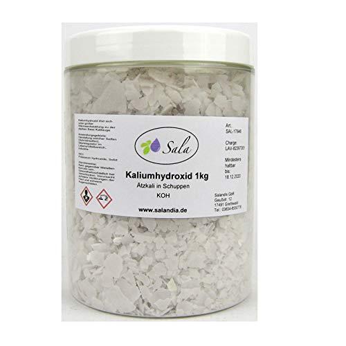 Sala Kaliumhydroxid Ätzkali KOH 1 kg 1000 g