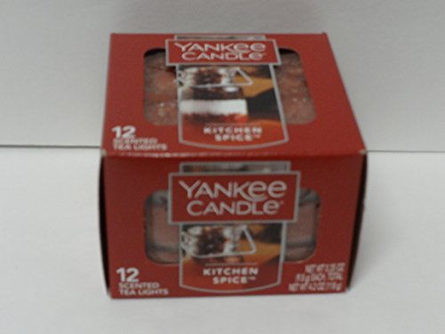 Yankee Candle Kitchen Spice Tea Lights - Set of 12