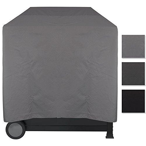 Grill Abdeckhaube Lounge - wasserdichter BBQ Cover - pflegeleichte Universal Schutzhülle für alle Grillarten - Schutz vor Wasser, Schmutz und UV-Strahlen, Größe:L - 100 x 60 x 100 cm, Farbe:Grau