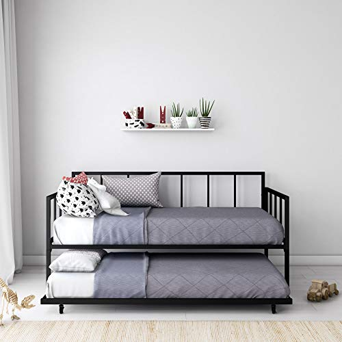 Finlay Metal Daybed and Trundle