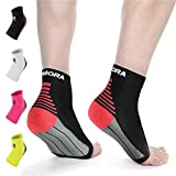 Rymora Plantar Fasciitis Socks Foot Compression Sock Sleeves for Men and Women - Relieves Pain - Supports...