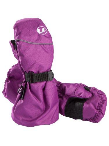 Ultrasport Mädchen Fausthandschuh Extension mit extra langer Stulpe, Dahlia, 8 - 10 Jahre, 49015