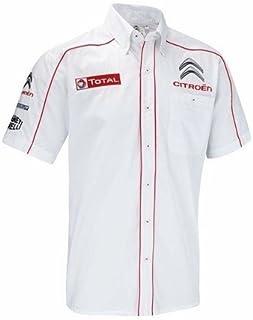 Citroen Racing, Loeb, WRC Rally Team Camisa Hombre, L