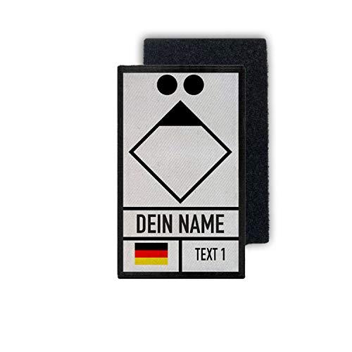 Copytec Patch Gruppenführer Feuerwehr Rettungsdienst Leitstelle Klett Uniform#35658
