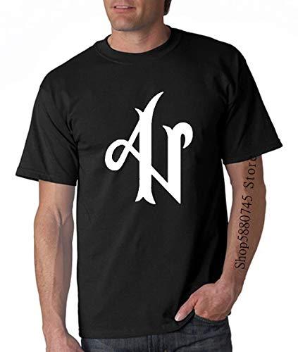 tianming Camiseta Negra Adexe Y Nau Logo 100 Algodon Tallas S M L XL XXL XXXL T Shirt